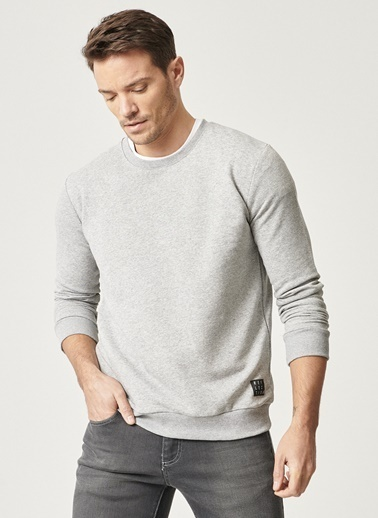 AC&Co / Altınyıldız Classics Sweatshirt Gri